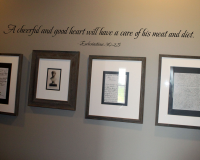 A Cheerful and Good Heart Wall Decal