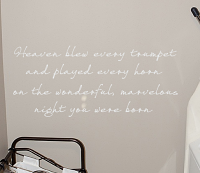 Night You Were Born Wall Decal