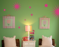 Explosions Wall Decal