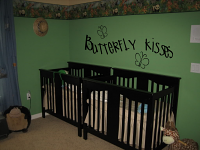 Butterfly Kisses Wall Decals