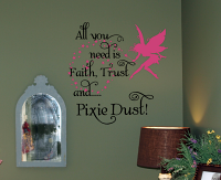 Pixie Dust Wall Decals