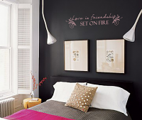 Friendship On Fire Wall Decal