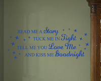 Read Me a Story Alternate Wall Decals