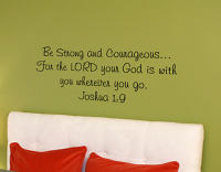 Lord Is With You Wall Decal