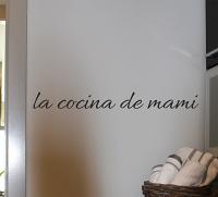 La Cocina De Mami Wall Decal