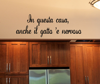 In Questa Casa Wall Decal