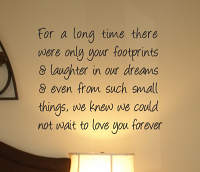 Not Wait To Love You Forever Wall Decal