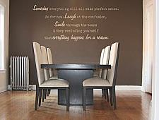 Someday Everything Will Make Perfect Sense Wall Decal
