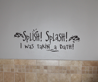 Splish Splash Wall Decals