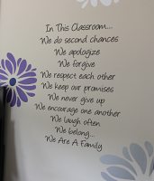 In This Classroom Wall Decals