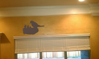 Nest and Birds Wall Decals