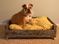 It's A Dog's Life Wall Decal