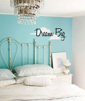 Clouds Dream Big Wall Decal