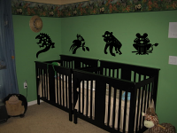 Animal Jungle Pack Wall Decal