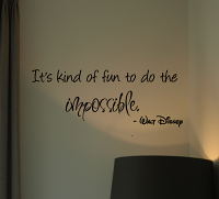 Fun To Do Impossible Disney Wall Decals