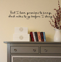 Before I Sleep Wall Decal