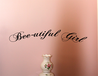 Bee-Utiful Baby Wall Decal