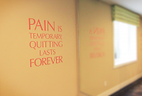 Pain is Temporary Wall Decal