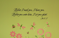 Before I Made You Wall Decals