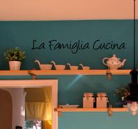 Famiglia Cucina II Wall Decal