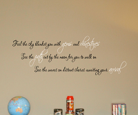 Feel The Sky See The Waves Wall Decals