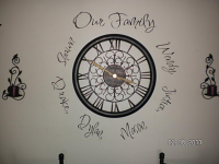 Our Family Arch | Wall Decals