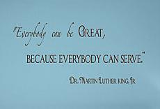 Everybody Can Be Great Wall Decal