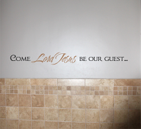 Come Lord Jesus Wall Decal