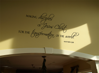 Making Disciples Wall Decal