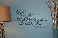 Prayed Samuel Wall Decals