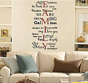 Family Words Wall Decal