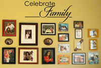 Celebrate Family Wall Decal