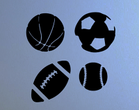 Sports Ball Pack Wall Decal